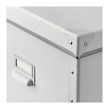 Контейнер для зберігання IKEA FJÄLLA 30x31x30 см білий 104.040.29