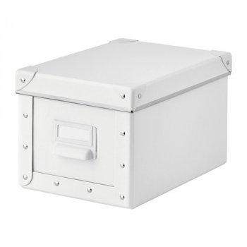 Контейнер для зберігання IKEA FJÄLLA 18x26x15 см білий 403.956.79
