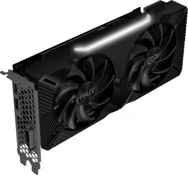 Palit PCI-Ex GeForce RTX 2060 GamingPro OC 6GB GDDR6 (192bit) (1830/14000) (DVI, HDMI, DisplayPort) (NE62060T18J9-1062A)
