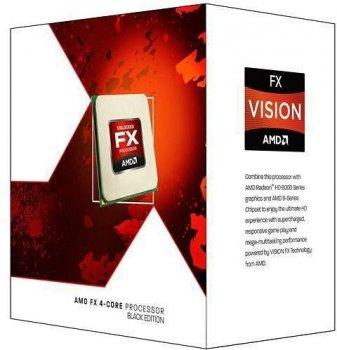 Процесор AMD AM3+ FX6350 Box 6x39 GHz Turbo Boost 42 GHz 8Mb L3 Vishera 32 nm TDP 125W FD6350FRHKBOX