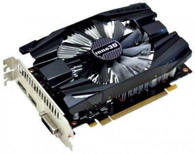 Видеокарта GeForce GTX1060 INNO3D Compact 6Gb DDR5 192bit DVI/HDMI/DP 1708/8000 MHz N10606DDNN5GM