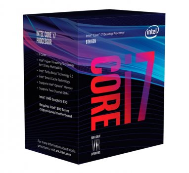 Процесор Intel Core i7 LGA1151 i78700K Box 6x37 GHz Turbo Boost 47 GHz UHD Graphic 630 1200 MHz L3 12Mb Coffee Lake 14 nm