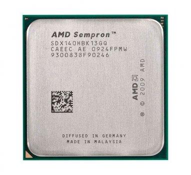 Процесор AMD Sempron 140 AM3 Tray 1x27 GHz 1Mb L2 Sargas 45 nm TDP 45W SDX140HBK13GQ