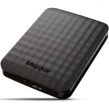 Зовнішній жорсткий диск 1Tb Seagate Maxtor Black 2.5' USB 3.0 STSHXM101TCBM