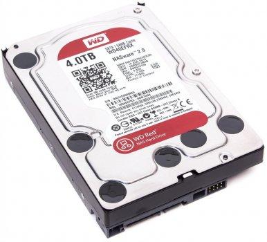 Жорсткий диск 3.5' 4Tb Western Digital Red, SATA3, 64Mb, 5400 rpm (WD40EFRX)