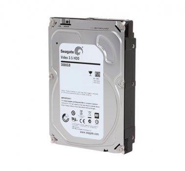 Жорсткий диск 3.5' 3Tb Seagate Video, SATA3, 64Mb, 5900 rpm (ST3000VM002) (Ref)