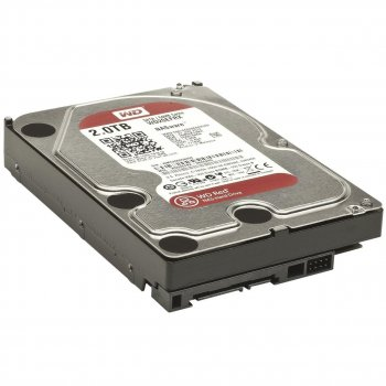 Жорсткий диск 3.5' 2Tb Western Digital Red SATA3 64Mb 5400 rpm WD20EFRX