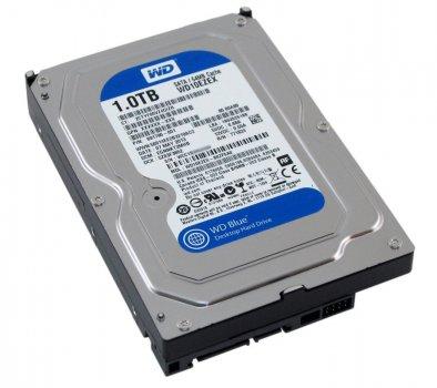 Жорсткий диск 3.5' 1Tb Western Digital Blue SATA3 64Mb 7200 rpm WD10EZEX (118308)