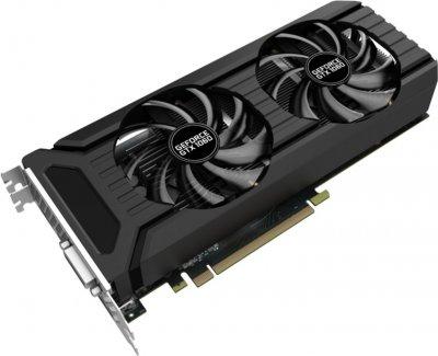 Palit PCI-Ex GeForce GTX 1060 Dual 3GB GDDR5 (192bit) (1506/8000) (DVI, HDMI, 3 x DisplayPort) (NE51060015F9-1061D)