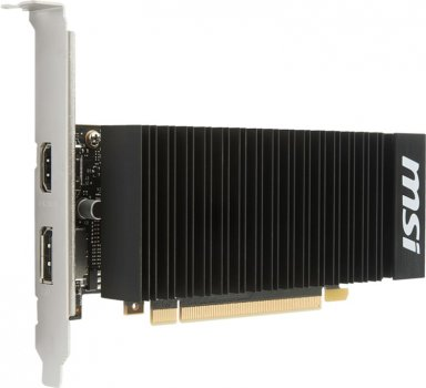 MSI PCI-Ex GeForce GT 1030 Low Profile OC 2GB GDDR5 (64bit) (1265/6008) (HDMI, DisplayPort) (GT 1030 2GH LP OC)