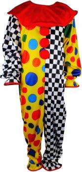 Костюм Seta Decor Клоун Арлекин 18-1093 Разноцветный (2000047366013)