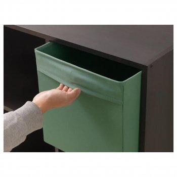 Коробка IKEA DRÖNA 33x38x33 см темно-зелена 202.988.01