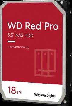 "Жорсткий диск Western Digital Red Pro NAS 18TB 7200rpm 512MB WD181KFGX 3.5"" SATA III"