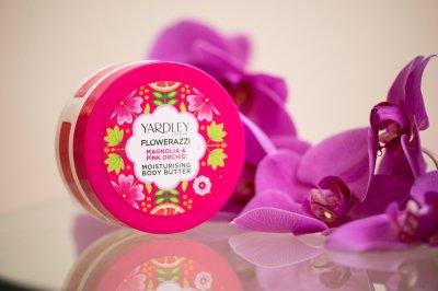 Масло для тела Yardley Flowerazzi Magnolia & Pink Orchid Moisturising Body Butter 200 мл (5056179300644)