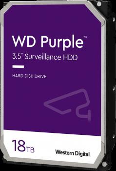 "Жорсткий диск Western Digital Purple Surveillance 18TB 7200rpm 512MB WD180PURZ 3.5"" SATA III"