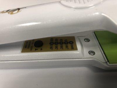 Прибор для укладки волос ProGemei утюжок с регулировкой температуры 30см Белый (GM-2957-W)