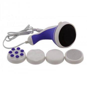 Масажер для тіла рук і ніг ручний Вібромасажер Relax and Tone антицелюлітний