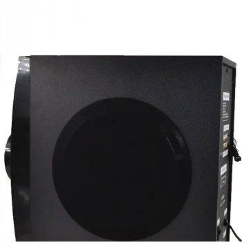 Акустична система ERA EAR музичний центр з вбудованим Bluetooth-модулем сабвуфер з пультом управління 90 Вт Чорна (E-43)
