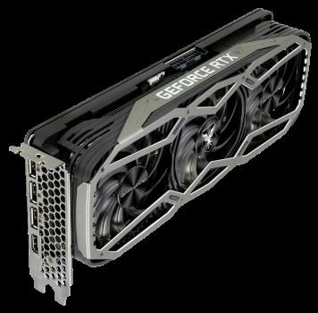 """Gainward PCI-Ex GeForce RTX 3060 Ti Phoenix """"GS"""" 8GB GDDR6 (256bit) (1800/14000) (HDMI, 3 x DisplayPort) (NE6306TT19P2-1041X/471056224-2256)"""