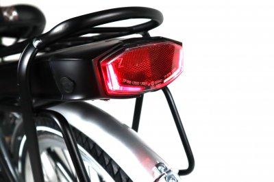 Электровелосипед LIDO 350Вт 12Ач с LCD пультом управления серый с белым