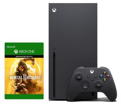 Xbox Series X 1Tb + Mortal Kombat 11