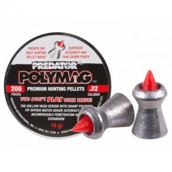 Кулі пневм JSB Polymag, 5,5 мм, 1,03 г, 200 шт / уп