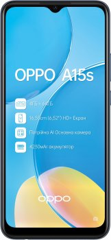Мобильный телефон OPPO A15s 4/64GB Dynamic Black