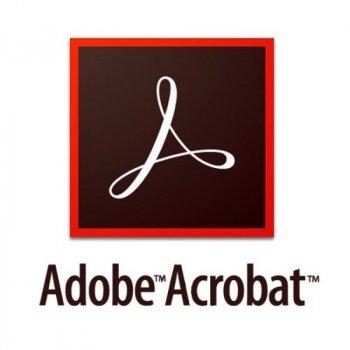 Adobe Acrobat Standard DC for teams. Подовження ліцензії для комерційних організацій і приватних користувачів, річна передплата на одного користувача в межах замовлення від 10 до 49 (65297910BA02A12)