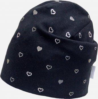 Демисезонная шапка David's Star 2126 54 см Черная (ROZ6400049531)