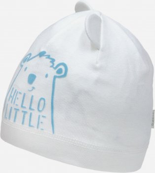 Демисезонная шапка David's Star 2142 44 см Молочная (ROZ6400049551)