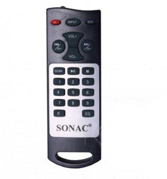 Акустичні система SONAC B20 3.1 колонка, Потужність 70Ватт X-BASS USB, Радіо, Пульт управління, Bluetooth