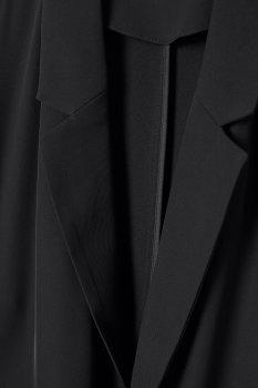 Пальто H&M 0734590 Черное