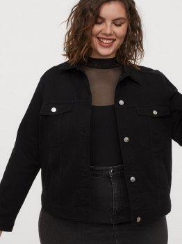 Куртка джинсовая H&M 0763544-1 Черная