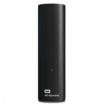 "Зовнішній жорсткий диск 3,5"" 12TB WD Elements Desktop (WDBWLG0120HBK-EESN) USB 3.0 Black"