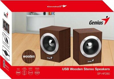 Акустична система Genius SP-HF280 Wood (31730028400)