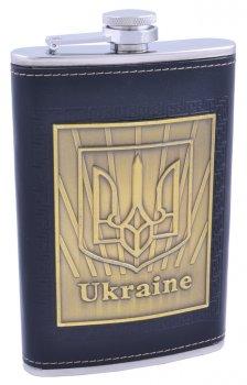 "Фляга 300 мл ""Ukraine Only Gold"", Нержавеющая Сталь"