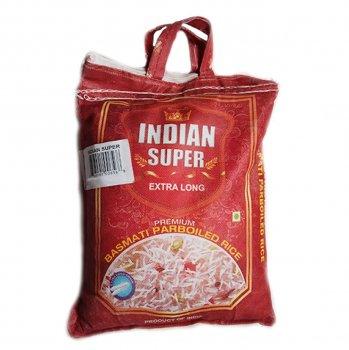 Рис Басмати Indian Super мешок пропаренный 5 кг