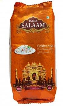 Рис Басмати Salaam India золотой пропаренный 1 кг