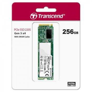 Накопичувач SSD M. 2 2280 256GB Transcend (TS256GMTE220S)