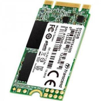 Накопичувач SSD M. 2 2242 512GB Transcend (TS512GMTS430S)