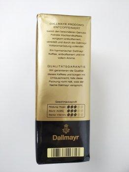 Кофе молотый без кофеина Dallmayr Prodomo Entcoffeiniert 500 г Германия (577751825)
