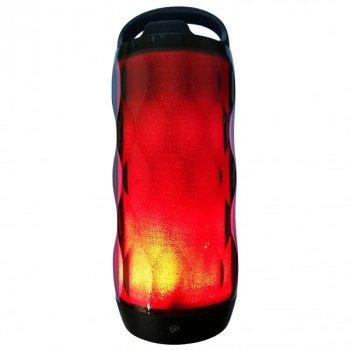 Беспроводная bluetooth колонка FLASH R14 LIGHT Plus 6 W USB microSD TF MP3 AUX со Светомузыкой Черный 170x70x70 мм