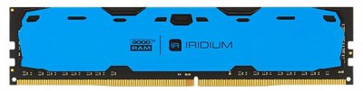 Оперативна пам'ять Goodram DDR4-2400 16384 MB PC4-19200 Iridium Blue (IR-B2400D464L17/16G)