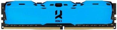Оперативна пам'ять Goodram DDR4-3000 16384 MB PC4-24000 IRDM X Blue (IR-XB3000D464L16/16G)