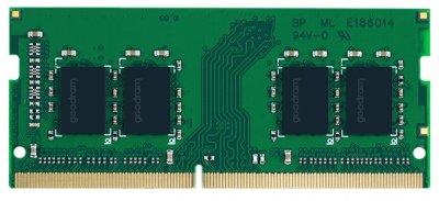 Оперативна пам'ять Goodram SODIMM DDR4-2666 16384 MB PC4-21300 (GR2666S464L19/16G)