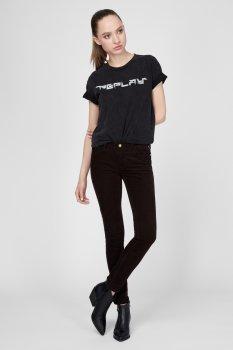 Женские коричневые вельветовые брюки NEW LUZ Replay WH689 .000.8083195