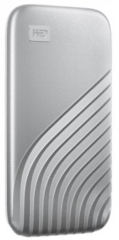 Western Digital My Passport 2TB USB 3.2 Type-C Silver (WDBAGF0020BSL-WESN) External