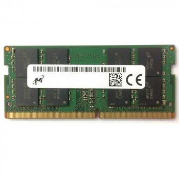 Оперативна пам'ять Micron SODIMM DDR4 8Gb 2133MHz PC4-17000 (MTA16ATF1G64HZ-2G1A2) Refurbished Excellent