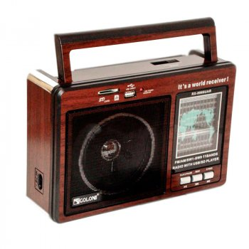 Радиоприемник RX-9966UAR с FM/AM/SW1 Golon T-SH28674