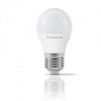 LED лампа TITANUM G45 6W E27 3000K 220V (ТL-G45-06273)